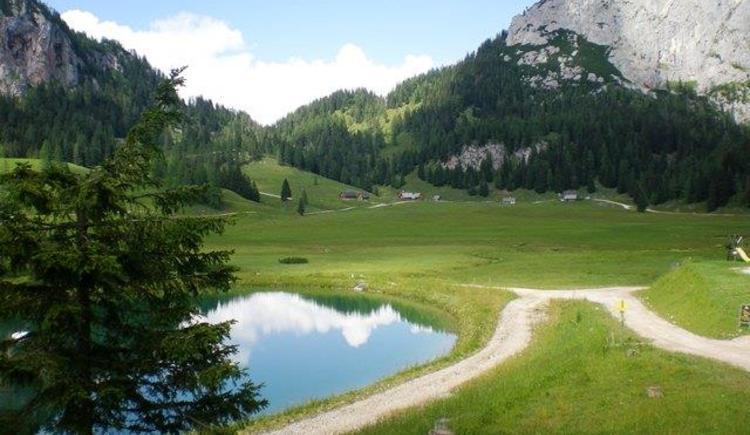 Wurzeralm - Wanderwege (© Bürtlmair)