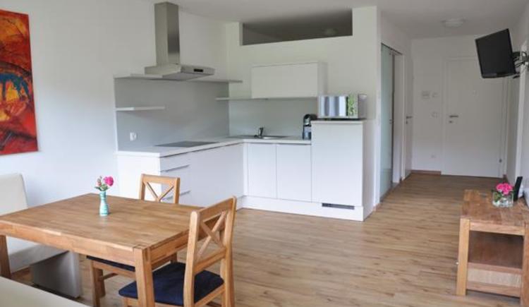 Apartment groß - Wohnküche (© Aparthotel Fürst)