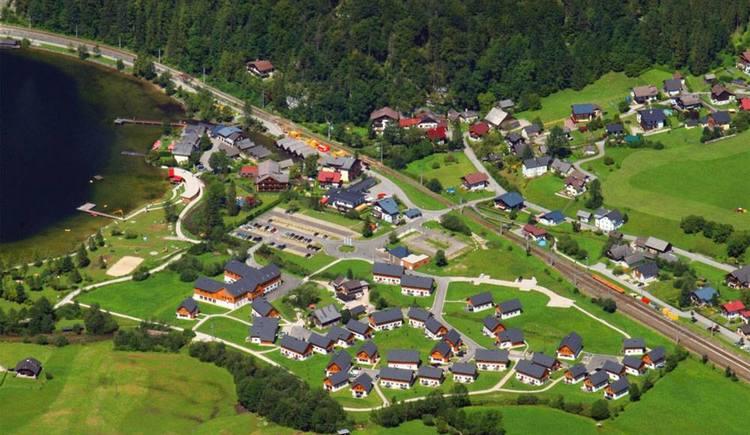 Resort Luftaufnahme. (© Resort Obertraun)