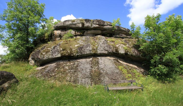 Naturdenkmal Bucklwehluckn Naturpark Mühlviertel