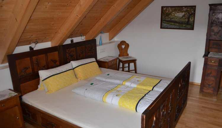 Schlafzimmer Fewo Teichblick