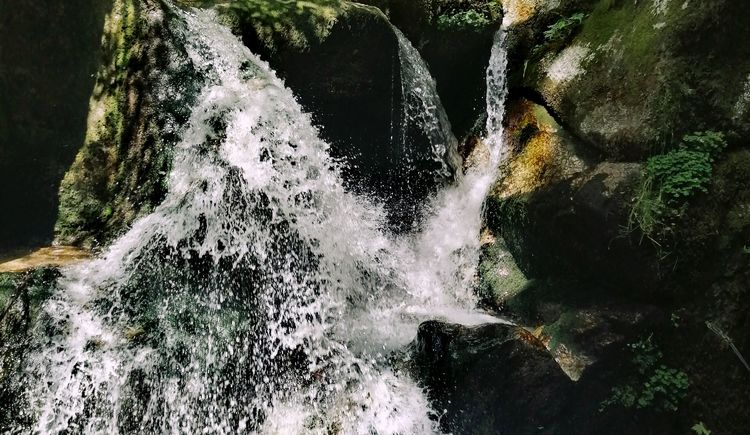 Wolfsschlucht Wasserfall1 (© Maria Aichinger)