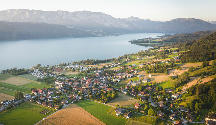 Nussdorf am Attersee (© TVB Attersee-Attergau/Moritz Ablinger)
