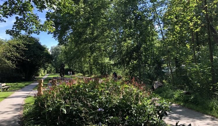 Hartjes Runde im Stadtpark Ried. (© Innviertel Tourismus)