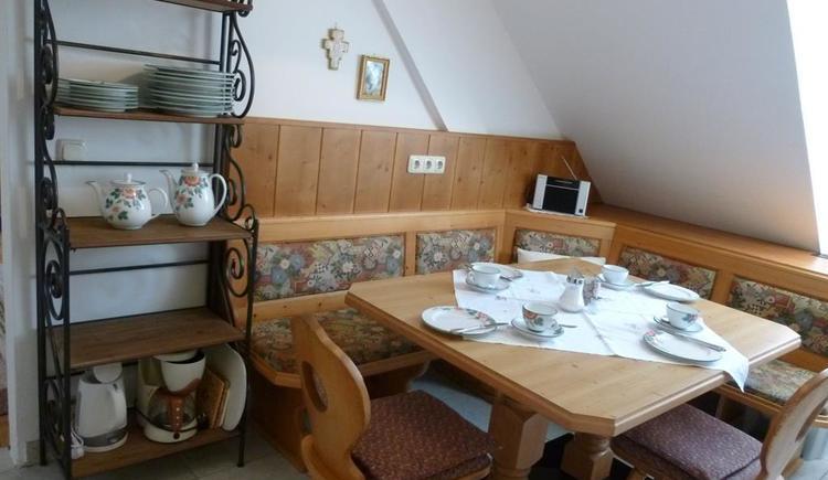 Sitzecke in der Küche - XXL Apartment Hirtenstube (© berger)