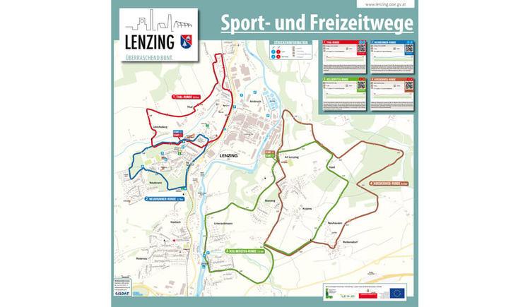 Sport- und Freizeitwege %40 Marktgemeinde Lenzing (© Marktgemeinde Lenzing)