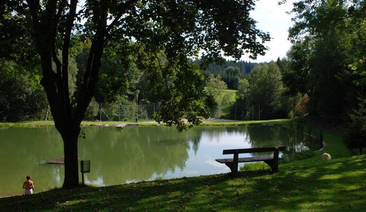 Naturbadeanlage (© Gemeinde St. Johann am Wimberg)