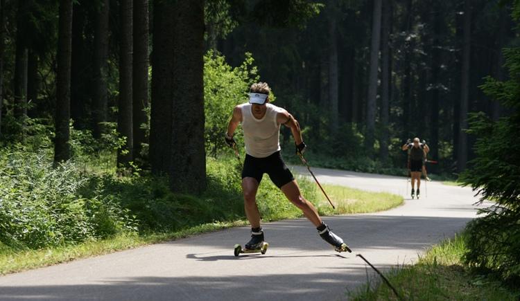 Sommer Rollerskater (© Innviertel Tourismus)