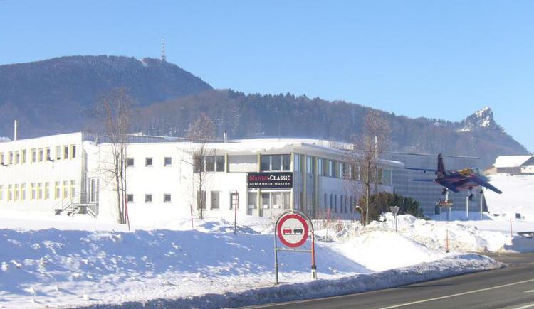 Manro Museum winter (© Tvb Koppl)