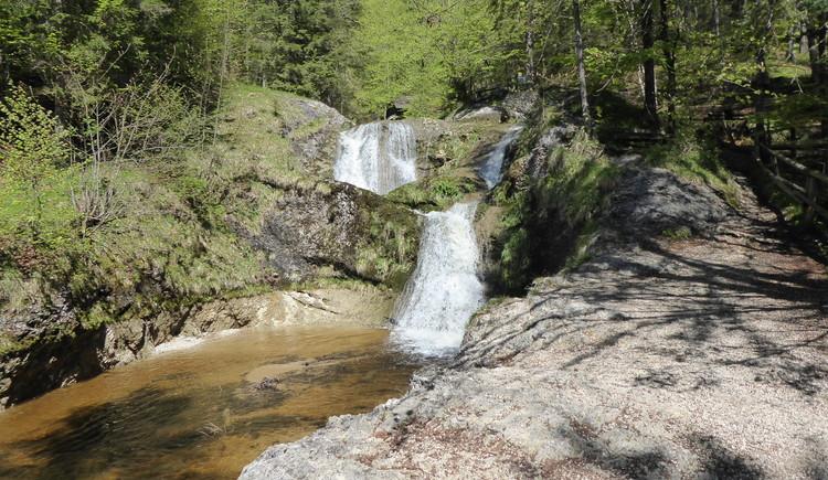 Wasserfälle in der Plötz (© Gisbert Rabeder)
