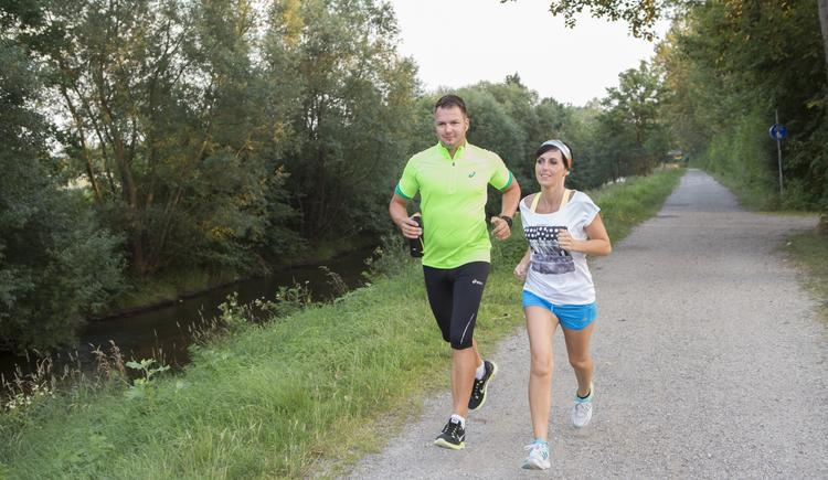 Laufen, Halbmarathon, Perg. (© Karin Lettner - Stadtmarketing PERG)