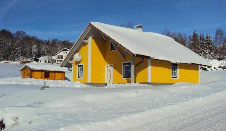 Haus Grobauer im Winter (© Privat)