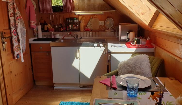 FeWo 3 - Küche (© Landhaus Osborne)