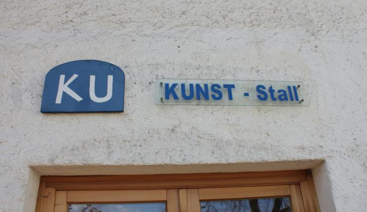 Foto zeigt Logo Kunst-Stall in St. Georgen im Attergau. (© TVBAtterseeAttergauFoto:SimonePuchner)
