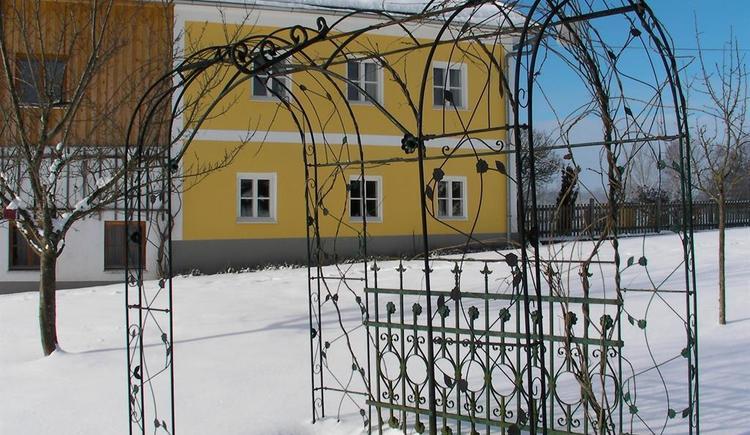 verschneiter Garten (© Privat)