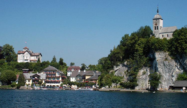 Traunkirchen am Traunsee im Salzkammergut. (© MTV Ferienregion Traunsee - Tourismusbüro Traunkirchen)