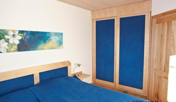 Schlafzimmer Appartement 2 (© Kronberger)