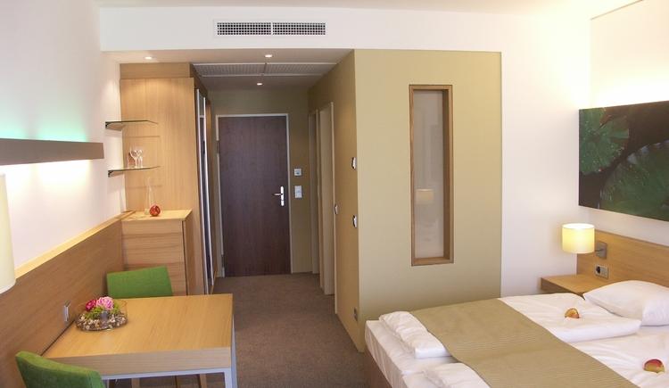 Zimmer - Grün (© Hotel Lebensquell)