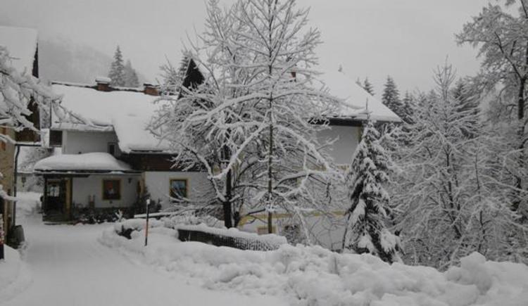 Haus Grubbach im Winter