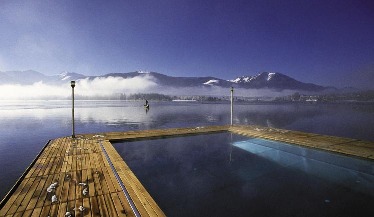ganzjährig beheiztes Seebad 30°C
