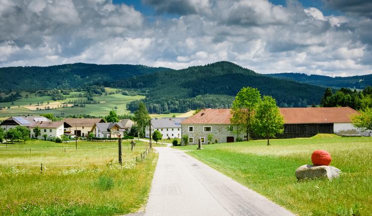 Ortschaft Pieberschlag (© Green Belt Center)