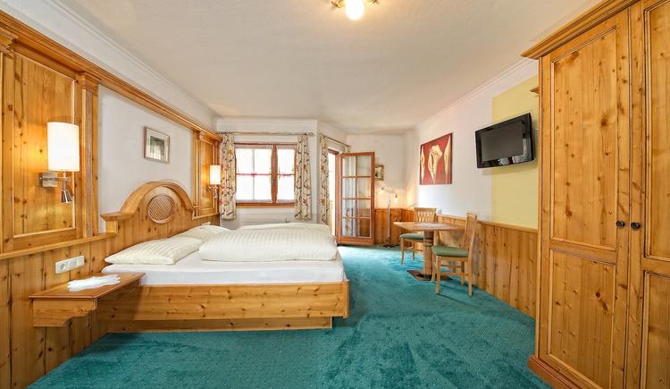 Zimmeransicht Hotel Zimmerbräu. (© Familie Pöllmann)
