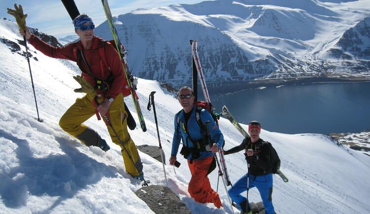 Skitouren mit Laserer alpin. (© laserer-alpin.at)