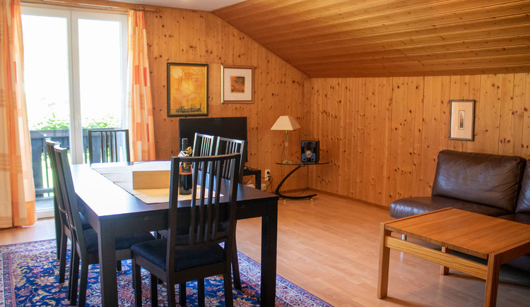 Apartment Gamsfeld Wohnzimmer (© Laserer)