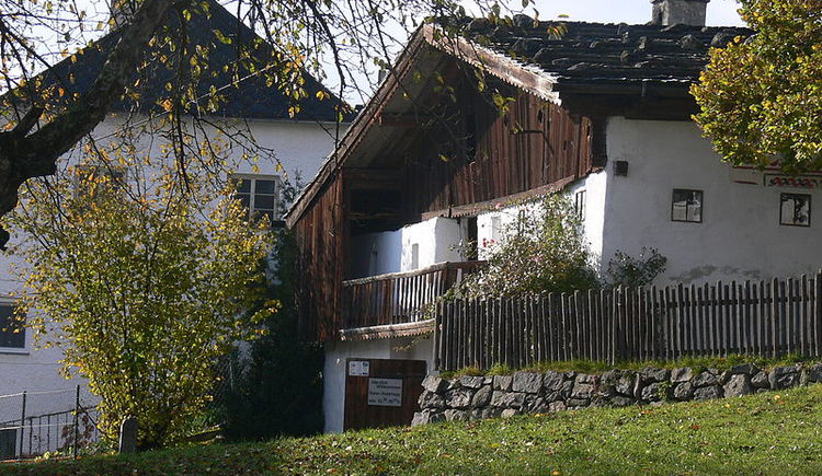 Brezerhaus in Dorf Rutzersdorf aus dem 16. Jhdt.