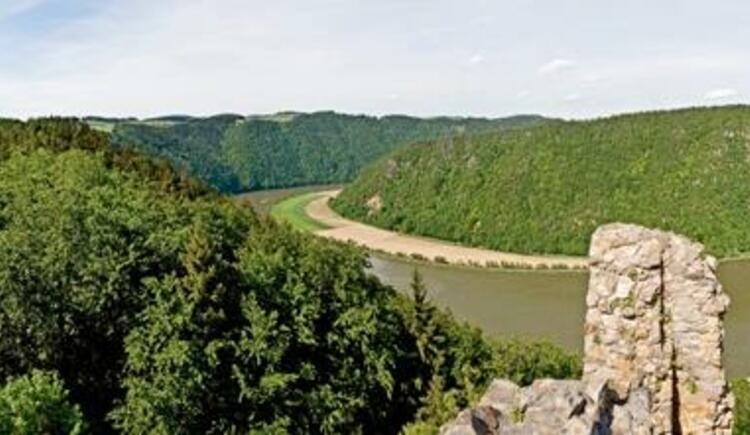 Panorama Ruine Haichenbach (© WGD Donau Oberösterreich Tourismus GmbH/Weissenbrunner)