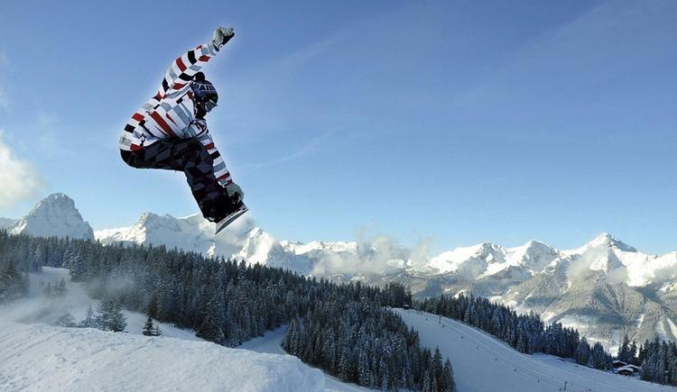 Snowboarder welcome im Hotel Garni Wallner