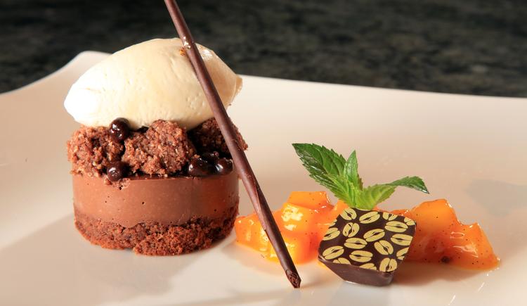 Haubengekrönte Küche im Romantik Restaurant Kaiserterrasse