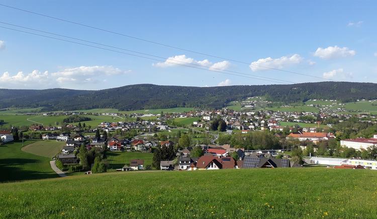 Aigen -Schlägl Richtung Böhmerwald