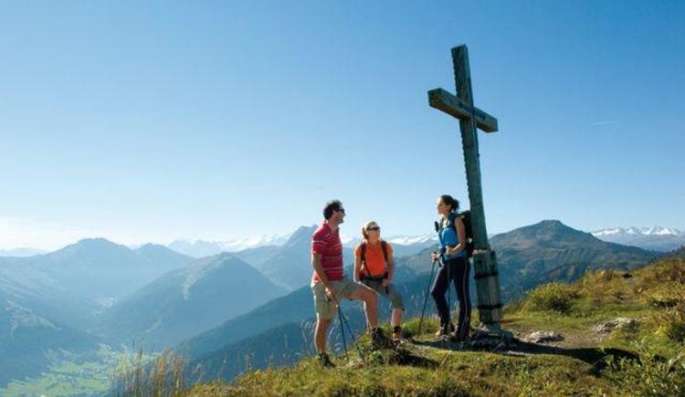 Wandern auf viele Almen und Berggipfel ab Hof