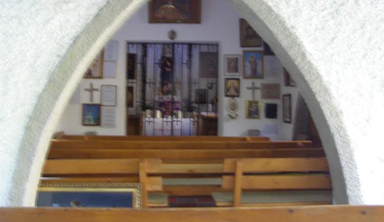 Kapelle innen (© TVBöhmerwald)