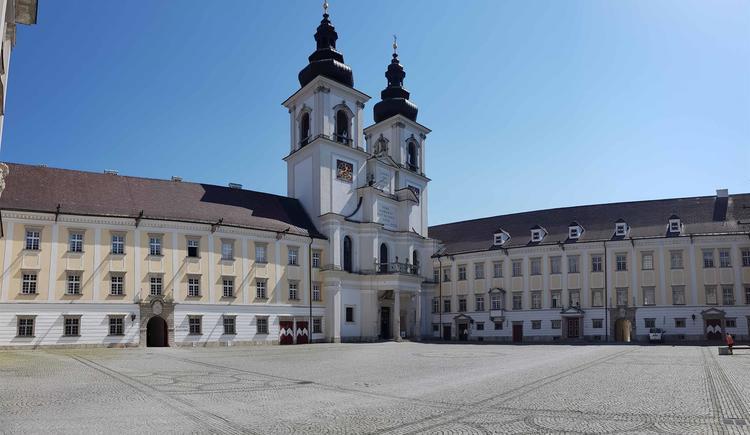 Ansicht Stiftskirche Kremsmünster (© Stift Kremsmünster)