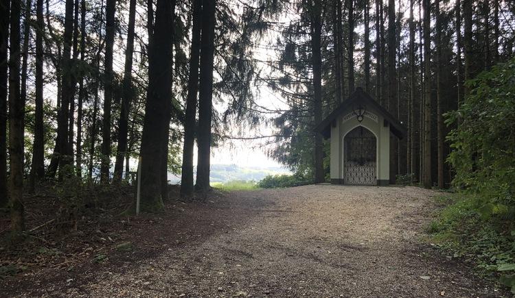 Hubertus-Kapelle. (© Urlaubsregion Vitalwelt Bad Schallerbach / Sarah Holzer)