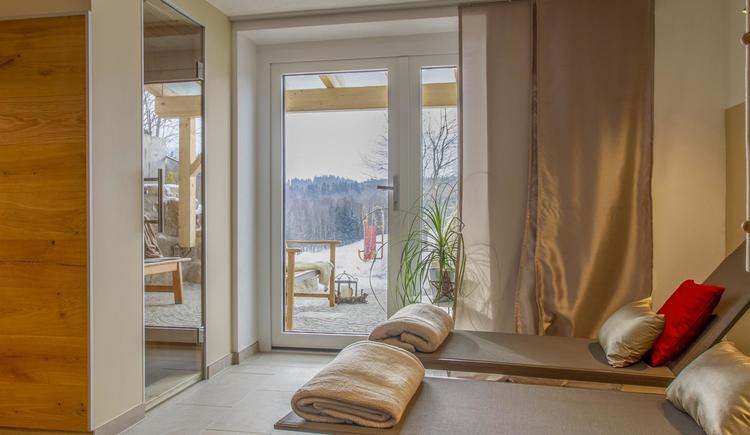 Sauna Ruhezone (© by Gästehaus