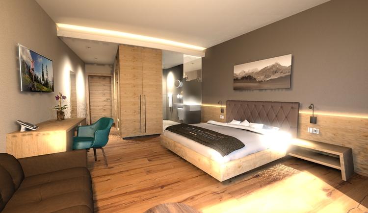 Doppelzimmer Panorama. (© stockerwirt)