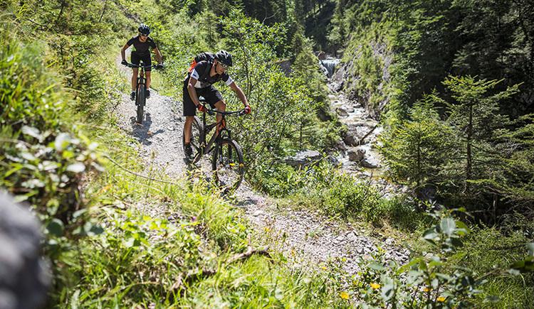 Mountainbiketour am Steyrsteg