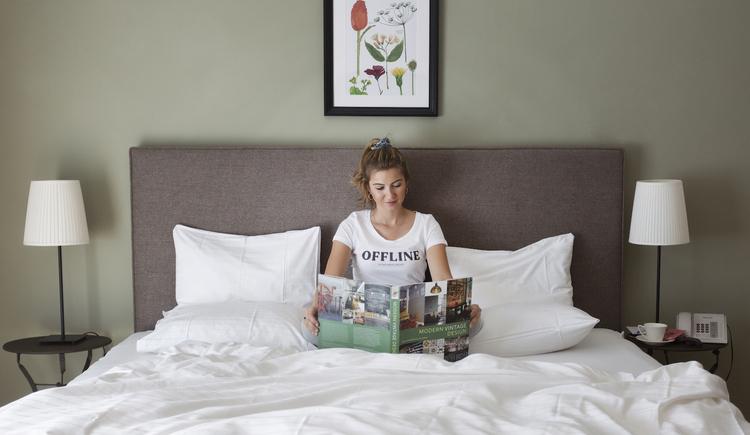 Doppelzimmer Reitergupf. (© Hotel Aichinger)