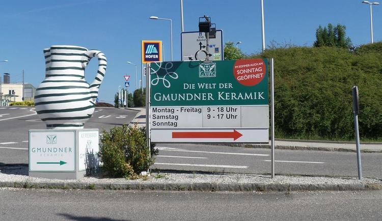 Gmundner Keramik (© Wolfis Traunseeblick)