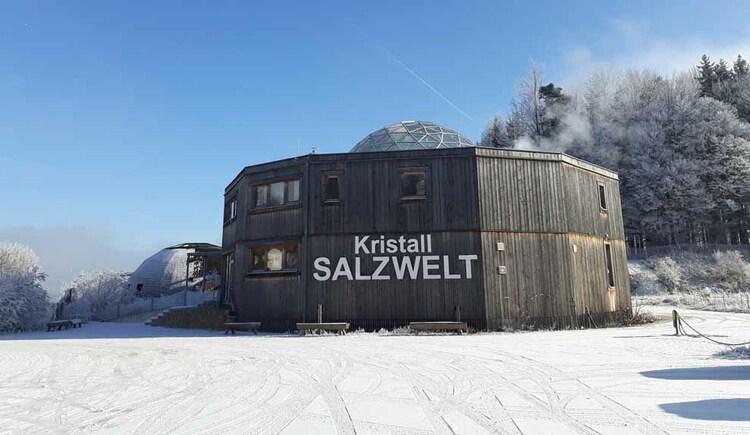 KristallSalzWelt im Winter. (© Johanna Kiebler)