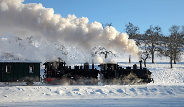 Steyrtal Museumsbahn im Winter (© TVB Steyr und die Nationalpark Region)