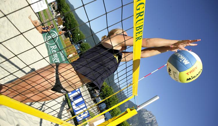 Beach Volleyball-Platz an der Esplanade