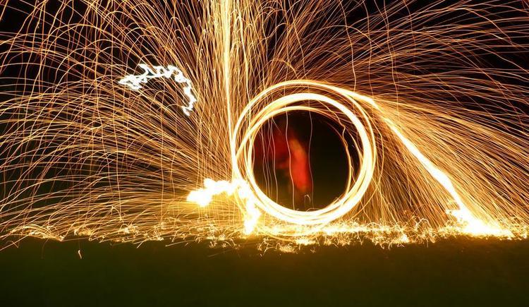 Teamfeuerwerk (© Abenteuer Management)