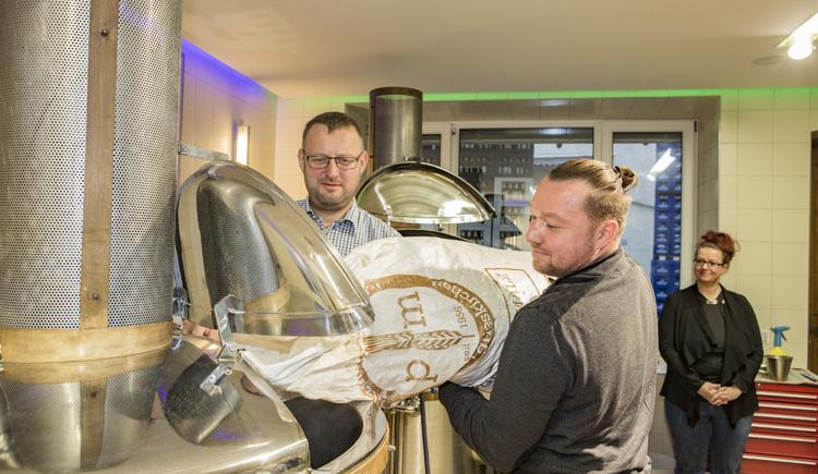 Brauseminar (© Brauerei Ried)