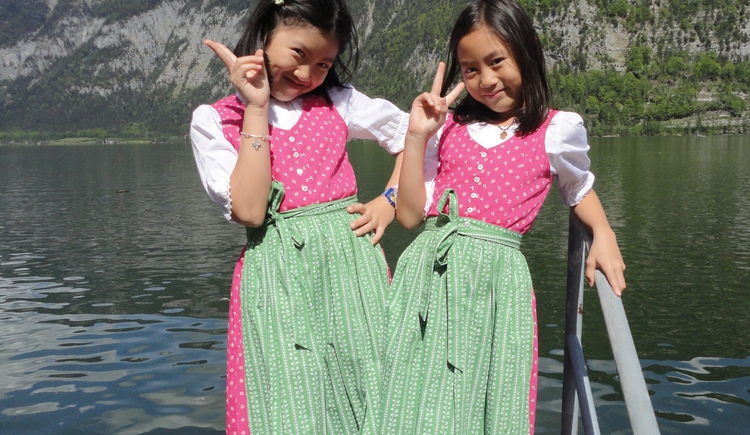 You can also rent small Dirndln for the children. (© Dirndl & Design to go)