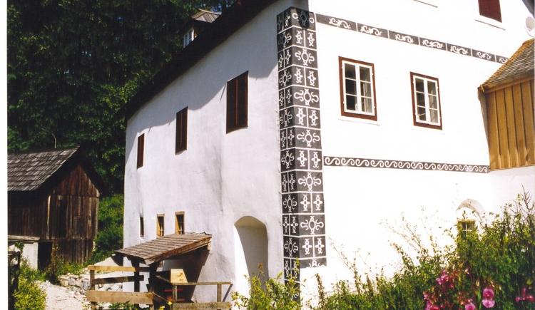 Außenansicht des Erlebnismuseums Anzenaumühle. (© Ferienregion Dachstein Salzkammergut)