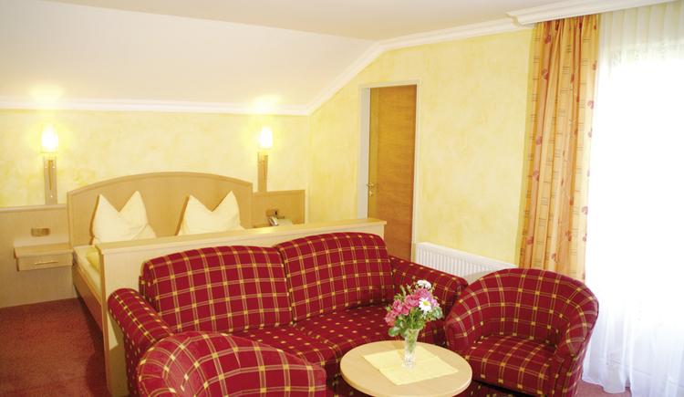 Doppelzimmer bei Ferienhotel Hofer ***S\n